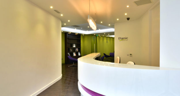 Photo of Elanic's dental office reception area