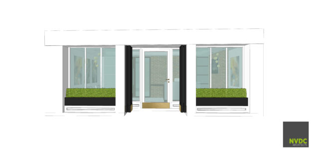 Proposed shopfront design